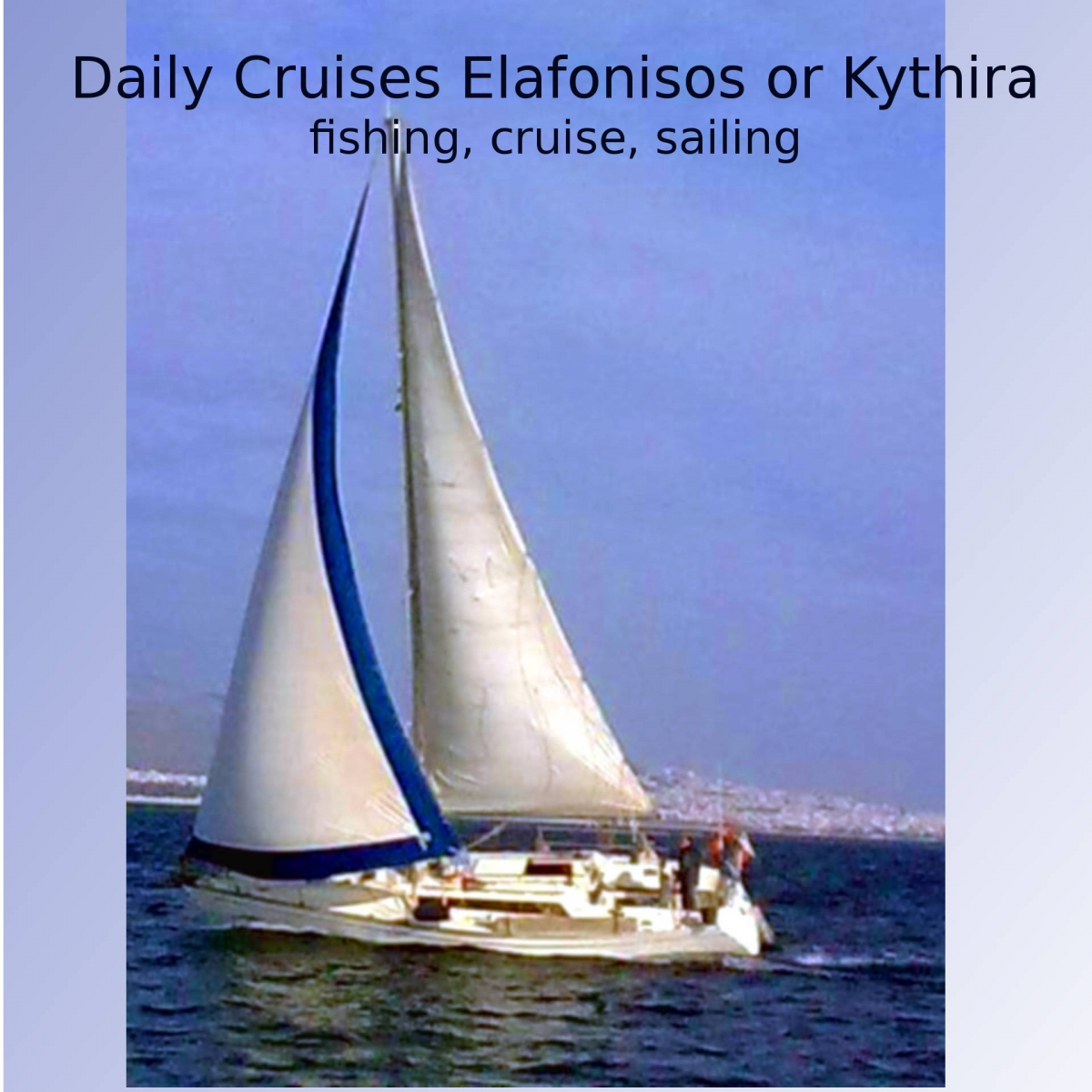 Elafonisos fishing, cruise, sailing
